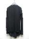 kiryuyrik・キリュウキリュウ/Jersey Layered Frill T-Shirts/Black&Black