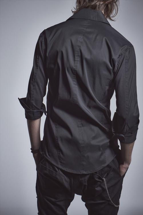 (予約品)10月入荷予定/kiryuyrik・キリュウキリュウ/Broad Shirts/BLACK