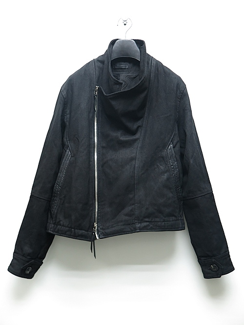 SALE40%OFF/KMRii・ケムリ/Cotton 2way Drape Rider 01/BLACK
