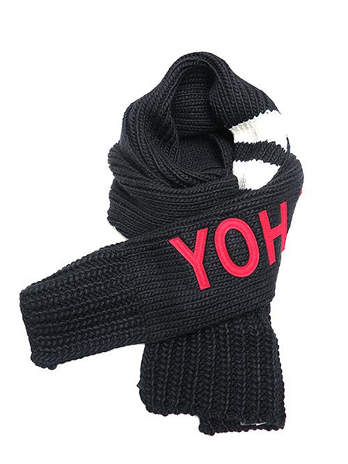 Y-3・ワイスリー/Y3-A19-0000-081/YOHJI SCARF/BLACK.