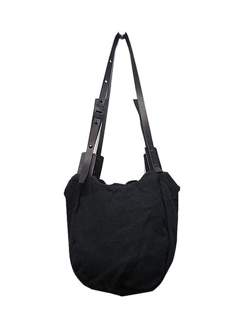 T.A.S・ティーエーエス/COMBINATION SHOULDER BAG MINI・ブラック.