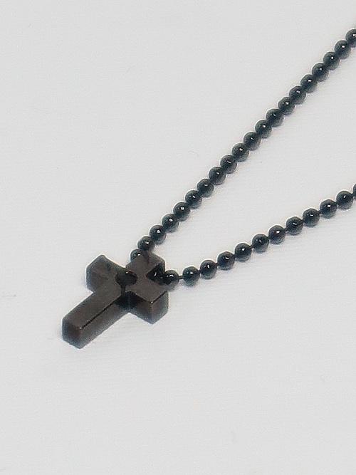 (予約品)6月入荷予定/kiryuyrik・キリュウキリュウ/Silver925 Cross Choker/Onyx