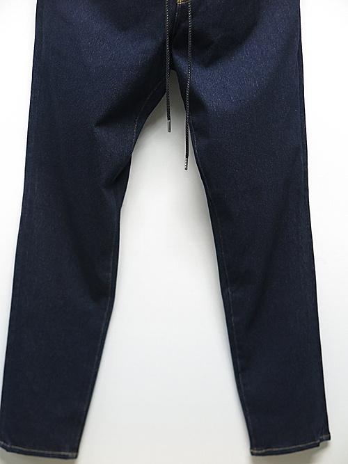 RESOUND CLOTHING・リサウンドクロージング/regular taperd MICK DENIM JERSEY/INDO/W