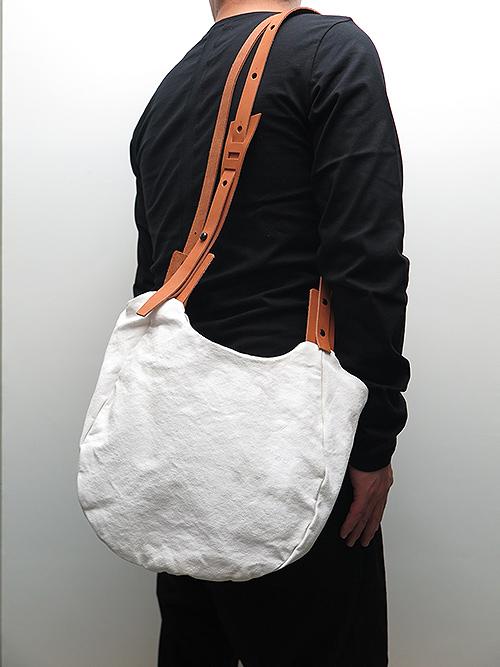 T.A.S・ティーエーエス/COMBINATION SHOULDER BAG MINI・オフホワイト.