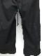 SALE40%OFF/Ground Y・グラウンドワイ/Cotton canvas Easy jopper pants/BLACK.
