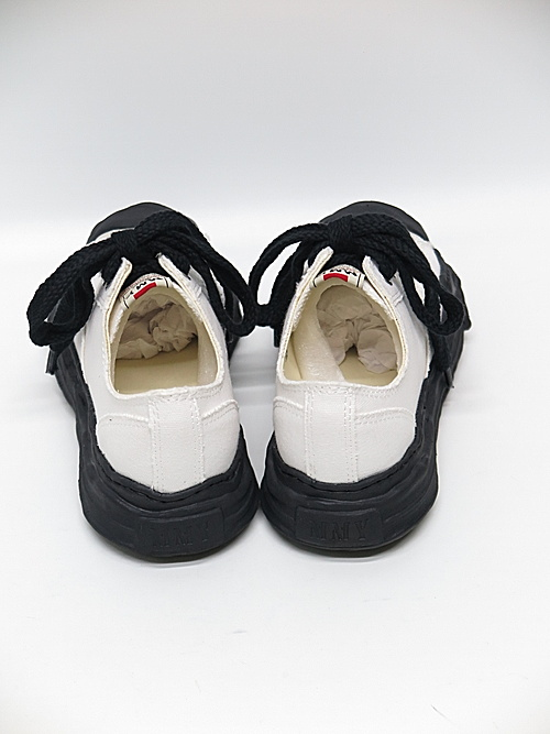 MIHARA YASUHIRO・ミハラヤスヒロ/HANK low - original TC sole canvas low-cut sn/WHT