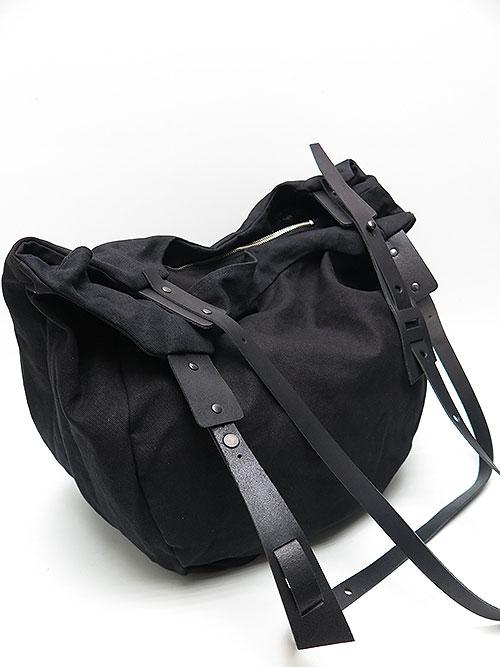 T.A.S・ティーエーエス/COMBINATION SHOULDER BAG BIG・ブラック.