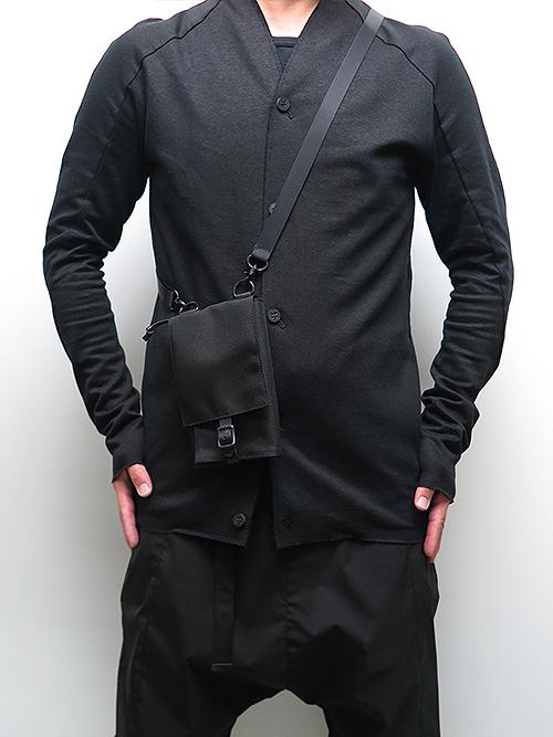 Yohji Yamamoto・ヨウジヤマモト/コーデュラナイロンフェスポーチ・ブラック