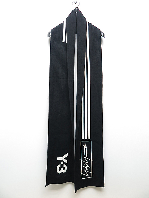 Y-3・ワイスリー/Y3-A19-0000-078/SCARF 3S/BLACK.