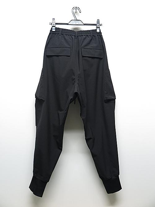 Y-3・ワイスリー/M CLASSIC RIPSTOP UTILITY PANTS/BLACK