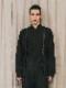 (予約品)2〜3月入荷/nude:masahiko maruyama ・ヌード:マサヒコマルヤマ/GARMENT DYED OVER SIZED SHIRT w/#0 THREAD OVER LOCK/Black
