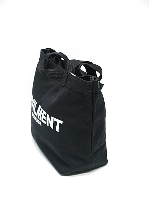 Moonage Devilment・ムーンエイジデビルメント/PRINT ECO BAG/BLACK