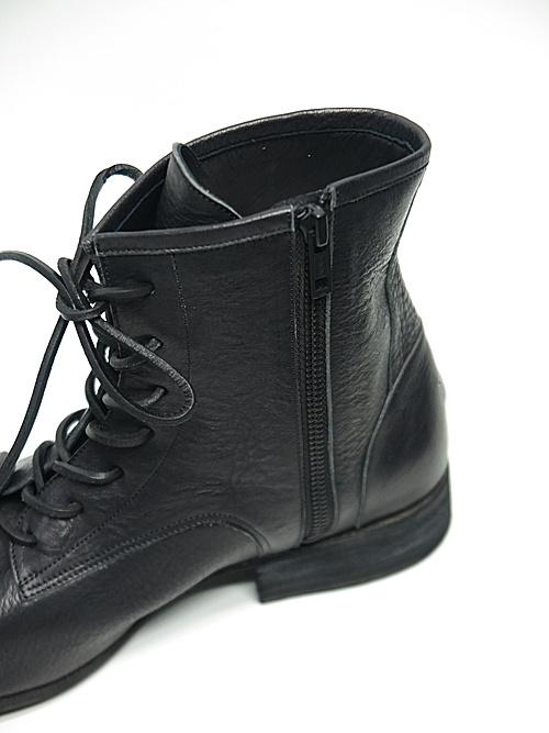nude:masahiko maruyama ・ヌード:マサヒコマルヤマ/Leather Boots/BLK