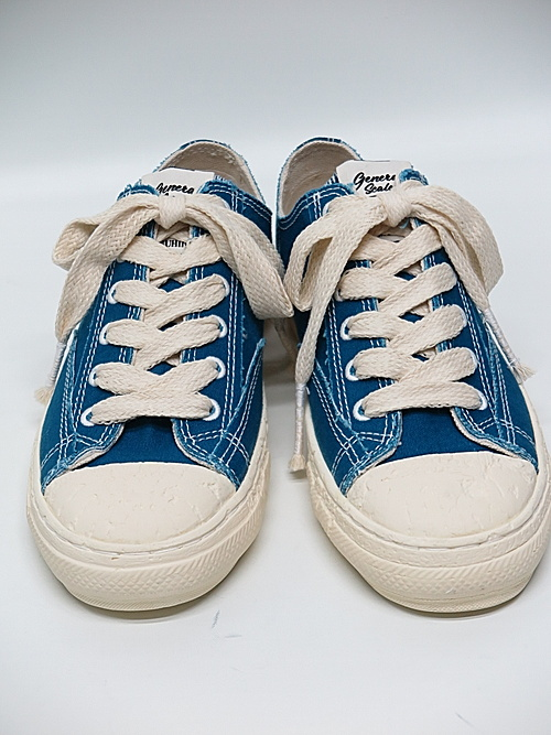 MIHARA YASUHIRO・ミハラヤスヒロ/PAST sole low cut sneaker/BLUE