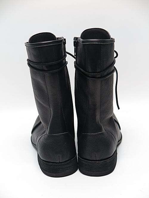 nude:masahiko maruyama ・ヌード:マサヒコマルヤマ/Leather Long Boots/BLK