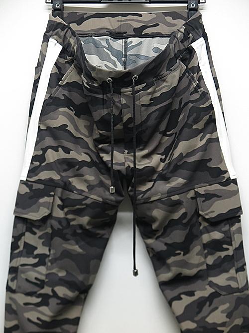 RESOUND CLOTHING・リサウンドクロージング/HV NYLON Darrell cargo PT/CAMO