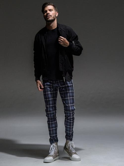 (予約品)8月入荷/RESOUND CLOTHING・リサウンドクロージング/SUPER TIGHT TAPERD Blind LINE PT/UKCHECKBK
