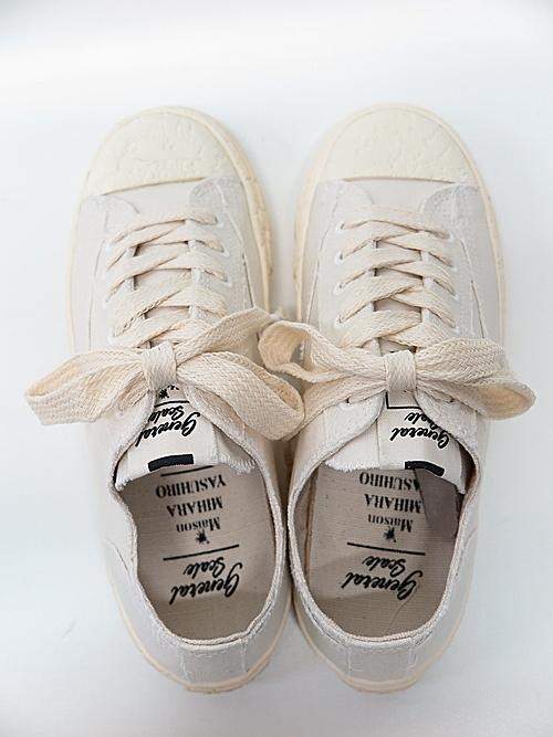 MIHARA YASUHIRO・ミハラヤスヒロ/PAST sole low cut sneaker/WHITE