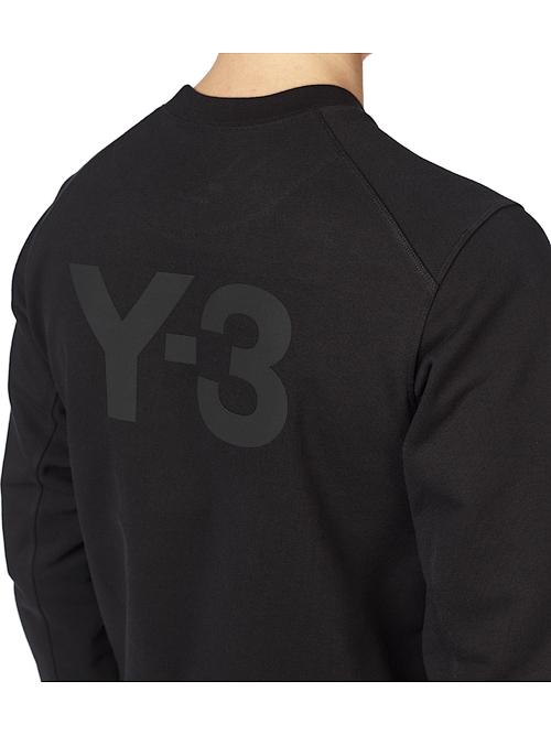 Y-3・ワイスリー/M CLASSIC BACK LOGO CREW SWEAT SHIRT/BLACK