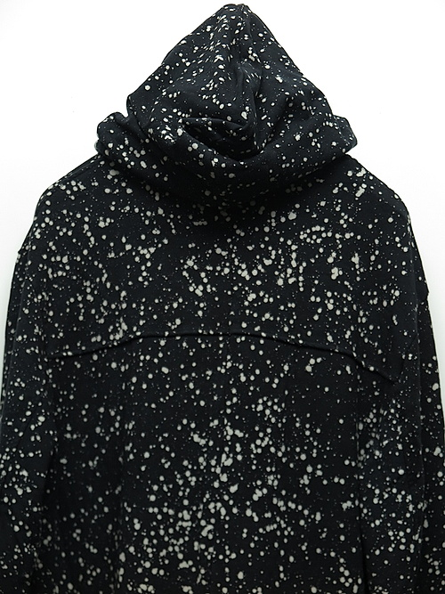 SALE40%OFF/KMRii・ケムリ/Bamboo Spandex Discharged Hooded Drape Rider 01/BLACK