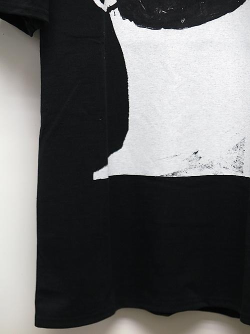 SALE30%OFF/nude:masahiko maruyama ・ヌード:マサヒコマルヤマ/Cotton Jersey Short Sleeve Print T shirt/BLK.