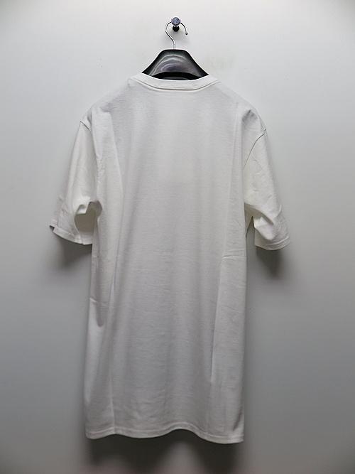 SALE40%OFF/nude:masahiko maruyama ・ヌード:マサヒコマルヤマ/Cotton Jersey Short Sleeve Print T shirt/WHT