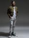 RESOUND CLOTHING・リサウンドクロージング/EDGE PT/GREY
