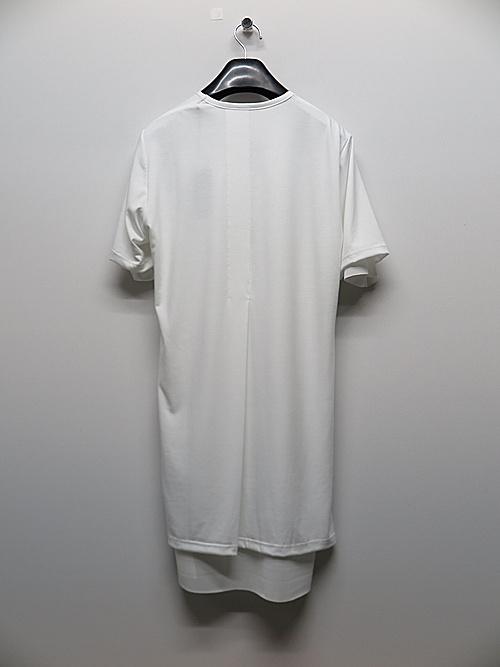 (予約品)3月入荷予定/kiryuyrik・キリュウキリュウ/BEA TENJIKU+TetKnit Layered V-Neck T-Shirts/WhiteWhite
