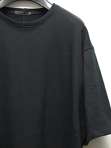 KMRii(ケムリ)Cotton Slash Pullover02/BLK.