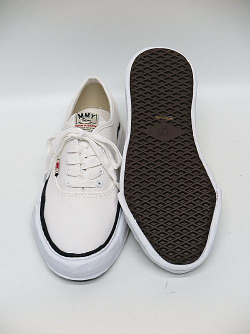 MIHARA YASUHIRO・ミハラヤスヒロ/original sole lowcut sneakerr/WHT