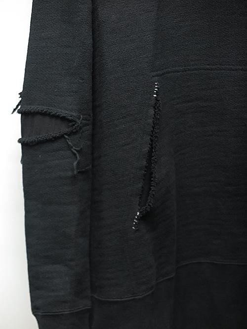 (予約品)7〜8月入荷予定/nude:masahiko maruyama ・ヌード:マサヒコマルヤマ/Garment Dyeing Parka/Black