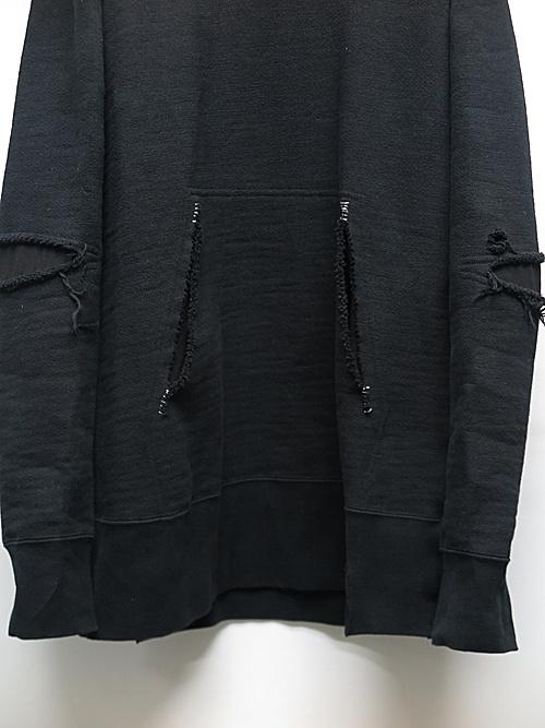 nude:masahiko maruyama ・ヌード:マサヒコマルヤマ/Garment Dyeing Parka/Black