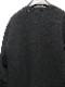 nude:masahiko maruyama ・ヌード:マサヒコマルヤマ/Garment Dyeing Pullover/Black