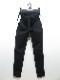 RESOUND CLOTHING・リサウンドクロージング/super tight taperd SLASH LINE PT/BLACK