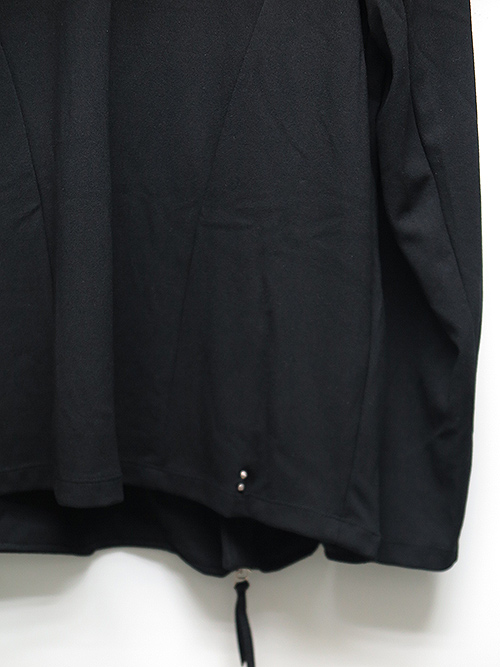 SALE40%OFF/KMRii・ケムリ・Rayon Jersey Drape Riders-BLK.