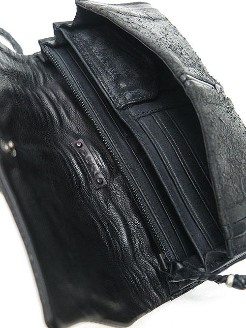 KMRii・ケムリ・Goat Leather WB- Scorpion /BLK