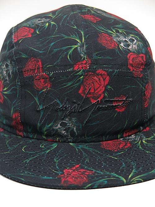Yohji Yamamoto・NEW ERA collaboration/PE JET CAP YY SR PRINT BLK RED/ブラック