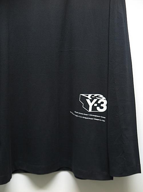 Y-3・ワイスリー/U CH2 ZINE PAGE-2 LS TEE/BLACK