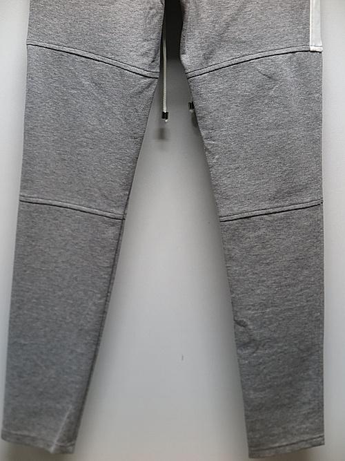 RESOUND CLOTHING・リサウンドクロージング/super tight taperd SLASH LINE PT/GREY