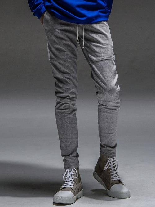 (予約品)8月入荷/RESOUND CLOTHING・リサウンドクロージング/super tight taperd SLASH LINE PT/GREY