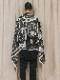 """(予約品)2〜3月入荷/nude:masahiko maruyama ・ヌード:マサヒコマルヤマ/DISTORTION3 """"MASARU INOUE"""" PRINT STOLE/Black"""