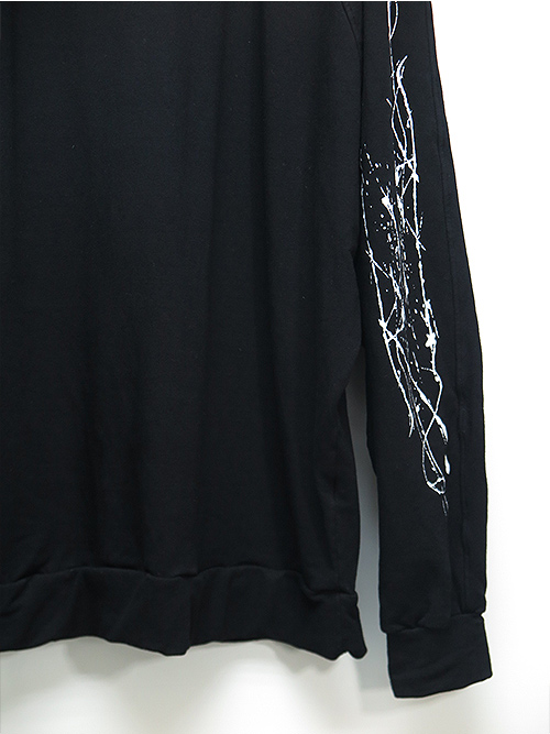 SALE40%OFF/KMRii・ケムリ/Bamboo Spandex Splash Bamboo Dolman Pullover/BLACK