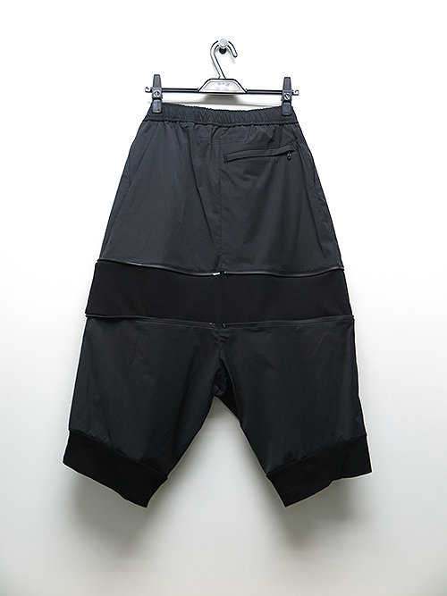 SALE50%OFF/NIL/S・ニルズ/NY/CO GABERDINE TROUSERS BLACK.