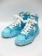 MIHARAYASUHIRO・ミハラヤスヒロ original sole overdie hitop sneaker Blue.
