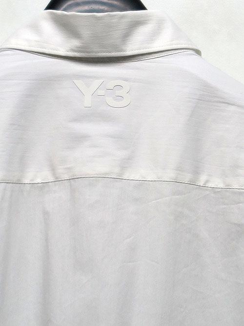 Y-3・ワイスリー/Y3-A20-0000-017/M CL LONG SHIRT/WHT