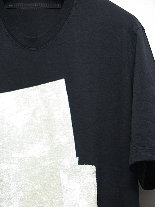JULIUS・ユリウス/COTTON JERSEY CUT & SEWN/BLK