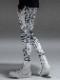 (予約品)9月入荷/RESOUND CLOTHING・リサウンドクロージング/super tight taperd SLASH LINE PT/BANDANA WH