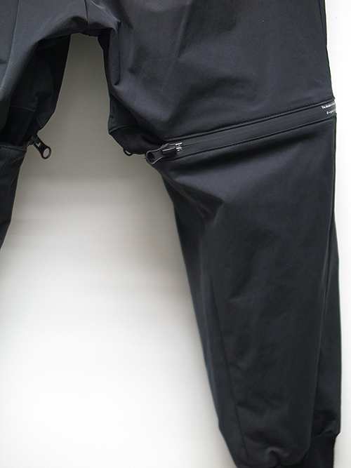 SALE40%OFF/NIL/S・ニルズ/NY/CO GABERDINE TROUSERS BLACK.
