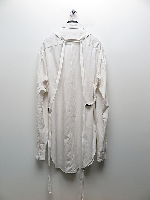JULIUS・ユリウス/RY/CO CLOTH HARNESS SHIRT/WHT