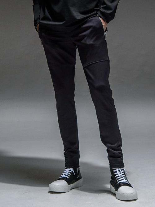 RESOUND CLOTHING・リサウンドクロージング/TIGHT TAPERD Rachel PT/BLACK